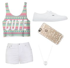 """""""Untitled #53"""" by bryanna0211 ❤ liked on Polyvore featuring Ally Fashion, Vans, Casetify, women's clothing, women's fashion, women, female, woman, misses and juniors"""