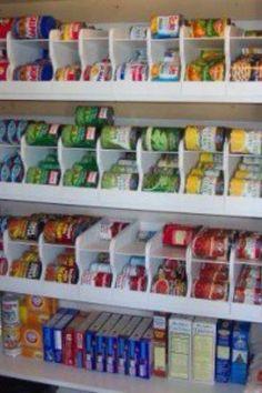 Keep stocked food rotated