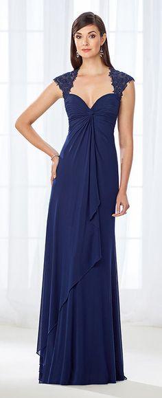 7dcd611039d2 118673 by Mon Cheri Queen Anne Neckline, Cameron Blake, Womens Dress Suits,  Draped
