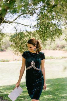 Look invitada boda: green velvet   confesiones de una boda   Bloglovin'
