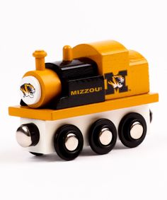 Look at this Missouri Tigers Toy Train Engine on #zulily today!