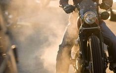 this is how a guy should look on a motorcycle