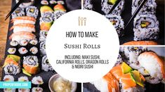 20 Best Dragon Roll images in 2016 | Dragon roll, Sushi, Buns