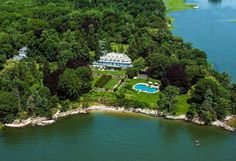 Copper Beech Farm: Christie's highest valued property at $190M (Greenwich, CT) | Aerial View