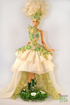 """The Queen of Nature"" OOAK JAMIEshow doll designed by Magia2000  for Italian Doll Convention CHARITY"