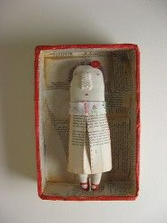 mixed media dolls — whip up