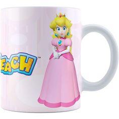 Caneca Super Mário Bros Princesa Peach 01