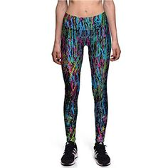 06455d93a2bea6 Rinalay Frauen Männer Fashion Printed Yoga Hosen Stretch Workout Aktive  Leggings Strumpfhosen Mode Living Workout Fitness