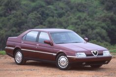 1995 Alfa Romeo 164:  The last Alfa Romeo sedan sold in the U.S. was the front-drive 164. Sales in the States were halted 20 years ago.