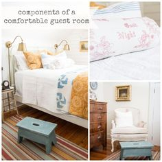 how to create a charming, comfortable guest room | miss mustard seed