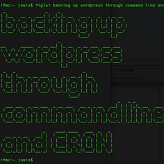 Last time we talked about Wordpress backups, I showed you how incredibly easy it was to backup your entire database and files though SSH with only a few commands. This time, I'm going to show how to automate those commands, giving you fresh backups of your entire site every week, with very little effort. This…