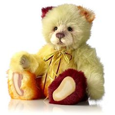 """Charlie Bears Limited Edition Ice Lolly Collectable 15"""" Plumo Bear"""