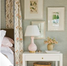 Bedside tables should be clutter free!