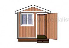 Individualistic constructed shed building plans internet Small Shed Plans, Wood Shed Plans, Free Shed Plans, Small Sheds, Shed Building Plans, Garden Storage Shed, Storage Shed Plans, Garden Sheds, Diy Shed Kits
