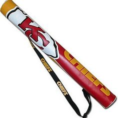 NFL Chiefs Insulated Six Can Shaft Cooler.  Buy it @ ReadyGolf.com