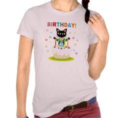 Birthday T-Shirt by BATKEI