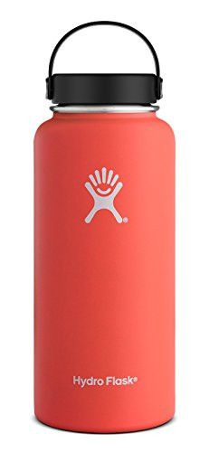 hydro flask wide-mouth vacuum water bottle - 32 fl. oz. sage