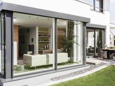 Fensterfront - Musterhaus Citylife 250