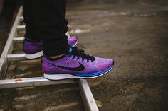 """Nike Flyknit Racer """"Game Royal/Pink Flash"""""""