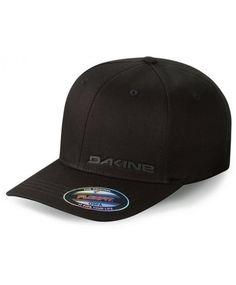Dakine silicone rail flexfit cap - black