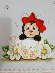 Resultado de imagem para pinturas em tecidos joaninhas Tole Painting, Fabric Painting, Ladybug Art, Country Paintings, Patch Quilt, Cute Illustration, Garden Art, Cute Art, New Art