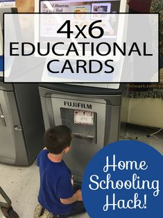 4x6 educational cards!! These are so amazing - so easy - and so inexpensive. One of these best educational tools for homeschoolers and teachers!!