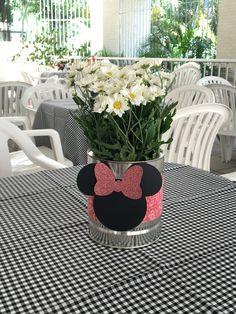 Centro de mesa Minie Rosa