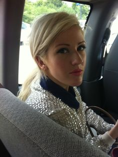 Ellie Goulding on the way to Lollapalooza