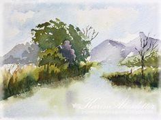Sunday Watercolors; Video by Sharon Lynn Williams
