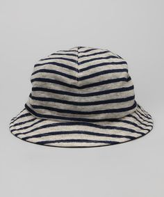 0313d2d66da Take a look at this White Locomotive Bucket Hat - Infant by Zutano ...