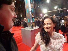 Lara Pulver. BAFTA (February 2014)