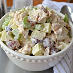 Chicken Waldorf Salad - My Recipe Magic #fresh #healthy #healthyrecipes #salad