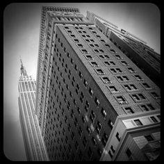 Herald Towers where Gabe lives! Macy's Herald Square, 34 Street, Social Organization, Site Design, Towers, Empire State Building, Cyberpunk, Skyscraper, Wanderlust