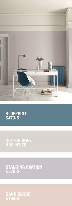 diy_crafts - Keep any space light and airy with a pastel palette from BEHR Learn more at HomeDepot ca Interior Paint Colors For Living Room, Paint Colors For Home, Bedroom Colors, House Colors, Living Room Decor, Bedroom Decor, Paint Colours, Palette Pastel, House Color Palettes