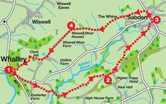 LancashireWalks.com - Whalley to Sabden