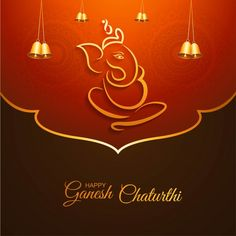 Greeting Card Happy Gahesh Chaturthi Background Vector and PNG Greeting Card Template, New Year Greeting Cards, Christmas Greeting Cards, Christmas Greetings, Ganesh Chaturthi Greetings, Happy Ganesh Chaturthi Images, Ganesh Images, Ganesha Pictures, Cute Happy Birthday