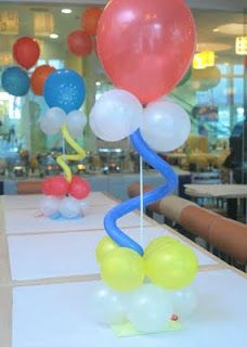 DIY: Balloon Centerpiece