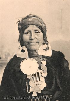 A mapuche woman. Indigenous Peoples in Native South America: Chile and Argentina usful for reasearch