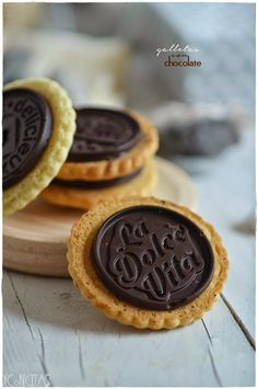 DECORECETAS: Galletas de chocolate