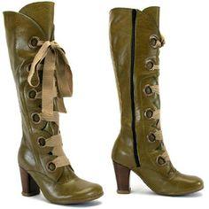 John Fluevog steampunk boots