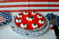 #Walmart Mom Liz delivers an easy-to-make Patriotic Pie.
