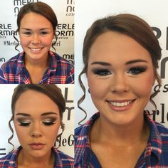 Prom makeup using all Merle Norman Cosmetics  Makeup by Erica at MN Orange Tx