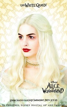 anne hathaway alice in wonderland - Couldn't they have done something with the eyebrows???