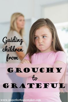 Are your kids always whining and complaining? Help redirect them to an attitude of gratefulness with these tips!