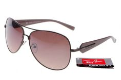 Ray Ban Active Lifestyle RB58012 Brown Black Frame Tawny Lens $14.87
