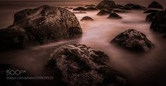 Rocks at Sea by maheswarank. Please Like http://fb.me/go4photos and Follow @go4fotos Thank You. :-)