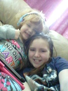 love hanging with my little sis