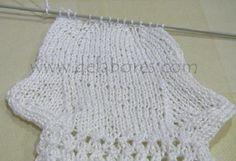 Cómo tejer calcetines de lana para bebés