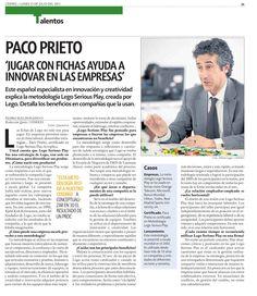 Lego Serious Play ayuda a innovar a las empresas: Paco Prieto. Consultor Certificado en Lego Serious Play