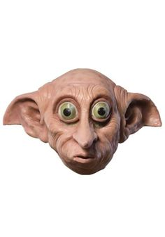 "Buy Harry Potter Child Dobby Mask at Mighty Ape NZ. Harry Potter Child Dobby Mask Size – One Size Fits Most ""Dobby has no master. Dobby is a free elf!"" —Dobby to Bellatrix Lestrange Dobby Harry Potter, Harry Potter Characters, Elf Costume, Halloween Costume Accessories, Halloween Costumes, Family Costumes, Fun Costumes, Elf, Ideas"